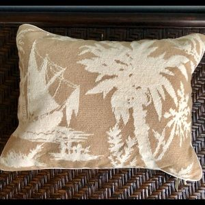 New William Sonoma Home Needlepoint Accent Pillow